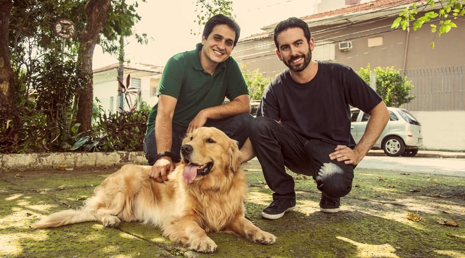 Eduardo Baer e Fernando Gadotti, da DogHero (Foto: Divulgação)