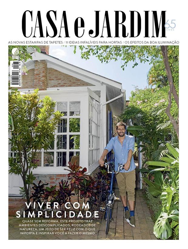O empresário catalão Esteban Walther em sua casa em São Paulo (Foto: Christian Maldonado / Produção de Bruna Pereira)