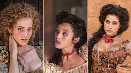 Hanna Romanazzi, Yanna Lavigne e Yasmin Gomlevsky interpretam trio 'quente' na nova novela das 11