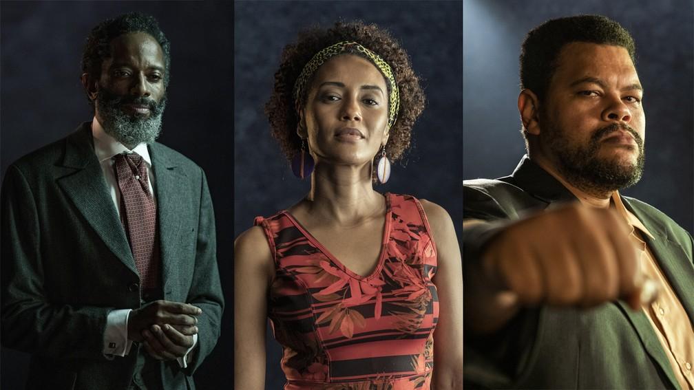 'Falas Negras' é o especial de Dia da Consciência Negra da Globo — Foto: Globo / João Cotta e Victor Pollak