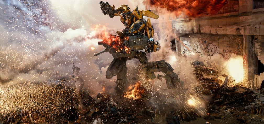 Cena de 'Transformers: O último cavaleiro' (Foto: Divulgação)