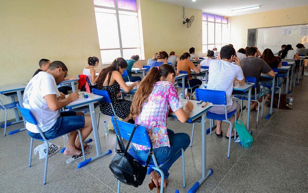 Primeiro dia de vestibular 2019 da Uneb tem abstenção de 14,78% — Foto: Cindi Rios/Ascom Uneb