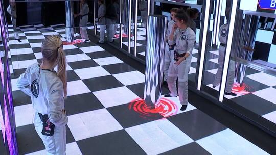 Hana compartilha estratégia com Hariany e Paula para terminar o sexto desafio mais rápido