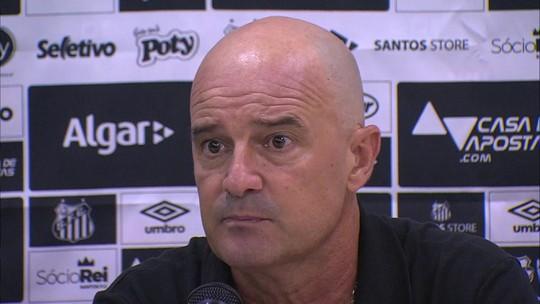 Auxiliar de Sampaoli valoriza empate do Santos fora de casa nas oitavas de final da Copa do Brasil