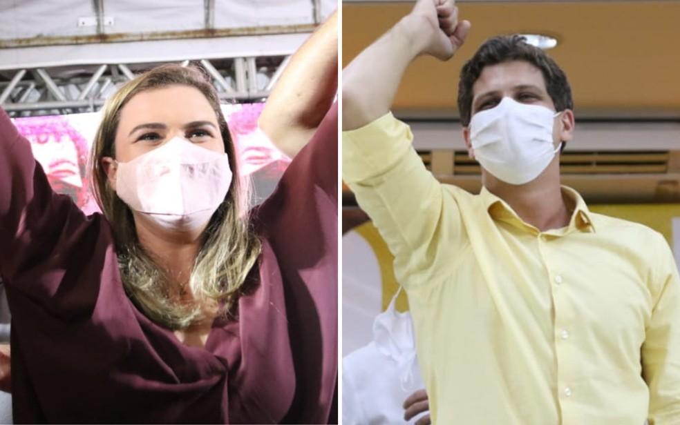 Marília Arraes (PT) e João Campos (PSB) disputam o segundo turno pela prefeitura do Recife — Foto: Aldo Carneiro/Pernambuco Press