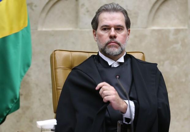 Toffoli defendeu que o uso maior do plenário virtual servirá como ferramenta para desafogar a pauta do plenário (Foto: Fabio Rodrigues Pozzebom/Agência Brasil)