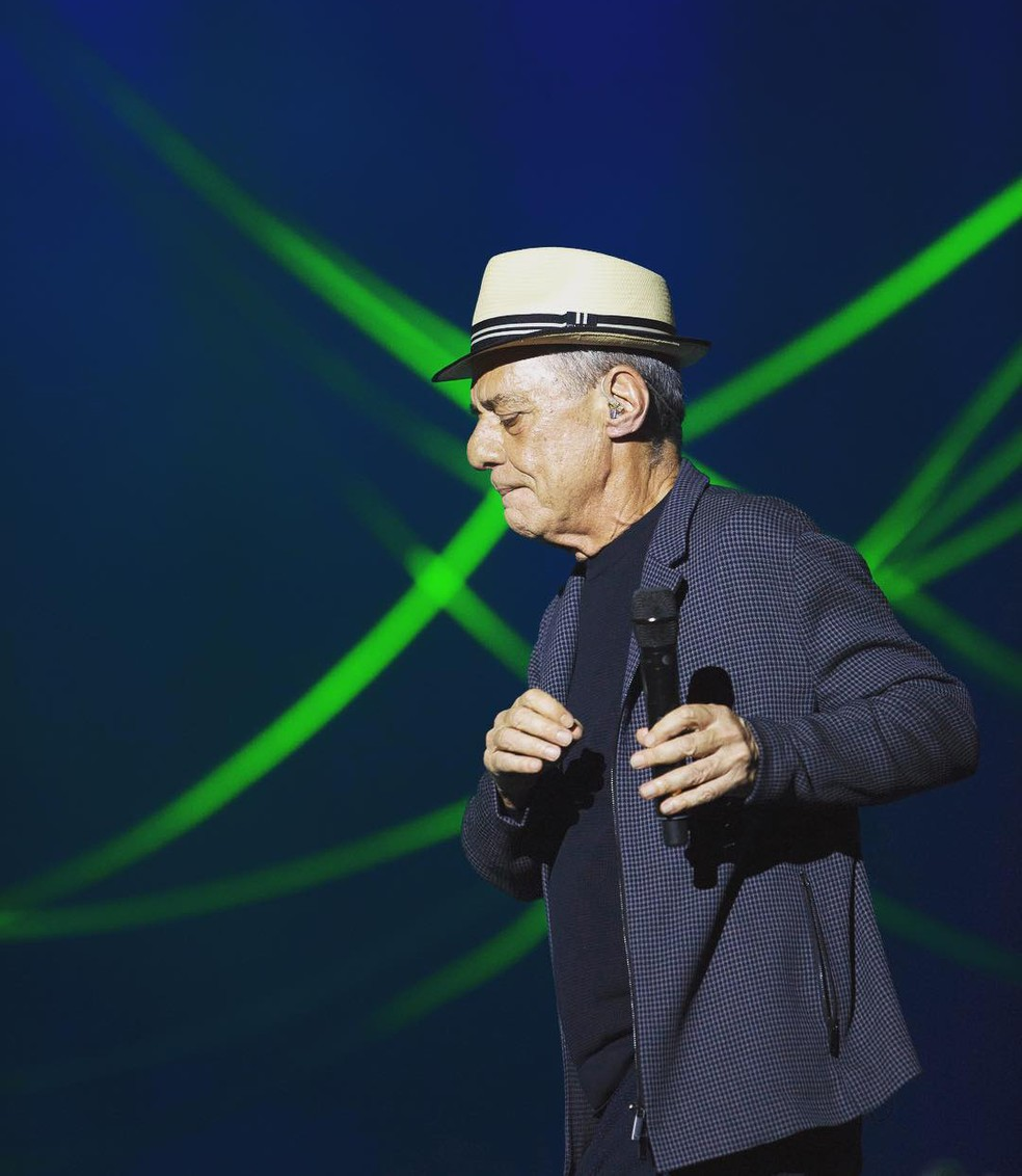 Chico Buarque no show 'Caravanas' (Foto: Divulgação / Leo Aversa)