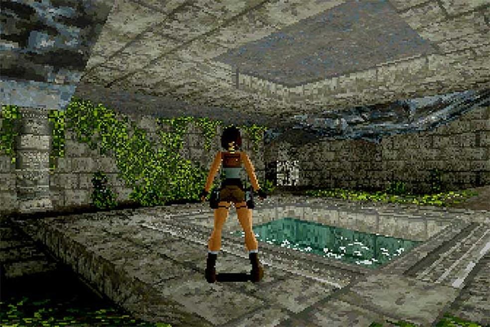 O primeiro Tomb Raider (Foto: Divulgação/Eidos) (Foto: O primeiro Tomb Raider (Foto: Divulgação/Eidos))