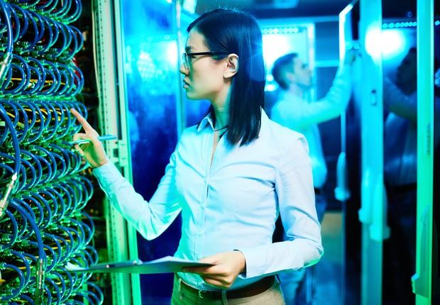mulheres ; tecnologia (Foto: Thinkstock)