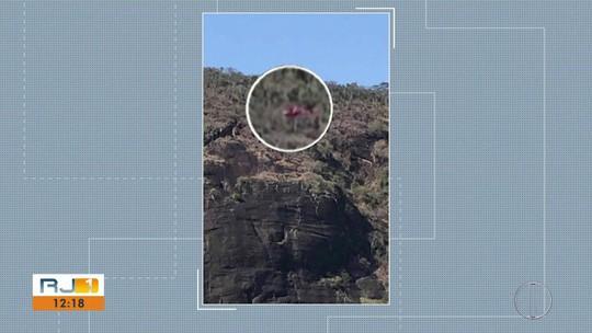 Piloto de parapente fica preso em árvore por 18 horas em Porciúncula