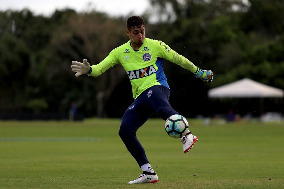 Jean tem tudo para ser goleiro do São Paulo na próxima temporada (Foto: Felipe Oliveira / Divulgação / E.C. Bahia)