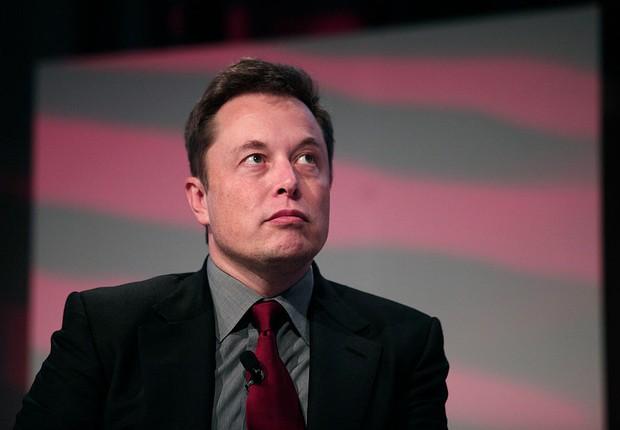 O empreendedor americano Elon Musk, criador da Tesla e da SpaceX (Foto: Bill Pugliano/Getty Images)