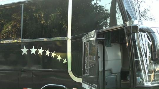 Ônibus de compristas que seguia para o Paraguai é assaltado em Foz do Iguaçu