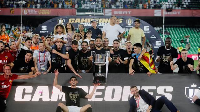 Valencia fica com o título da Copa do Rei