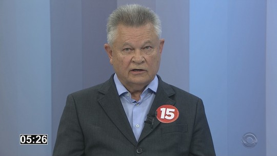 Udo Döhler é entrevistado pelo RBS Notícias nesta terça-feira (25)