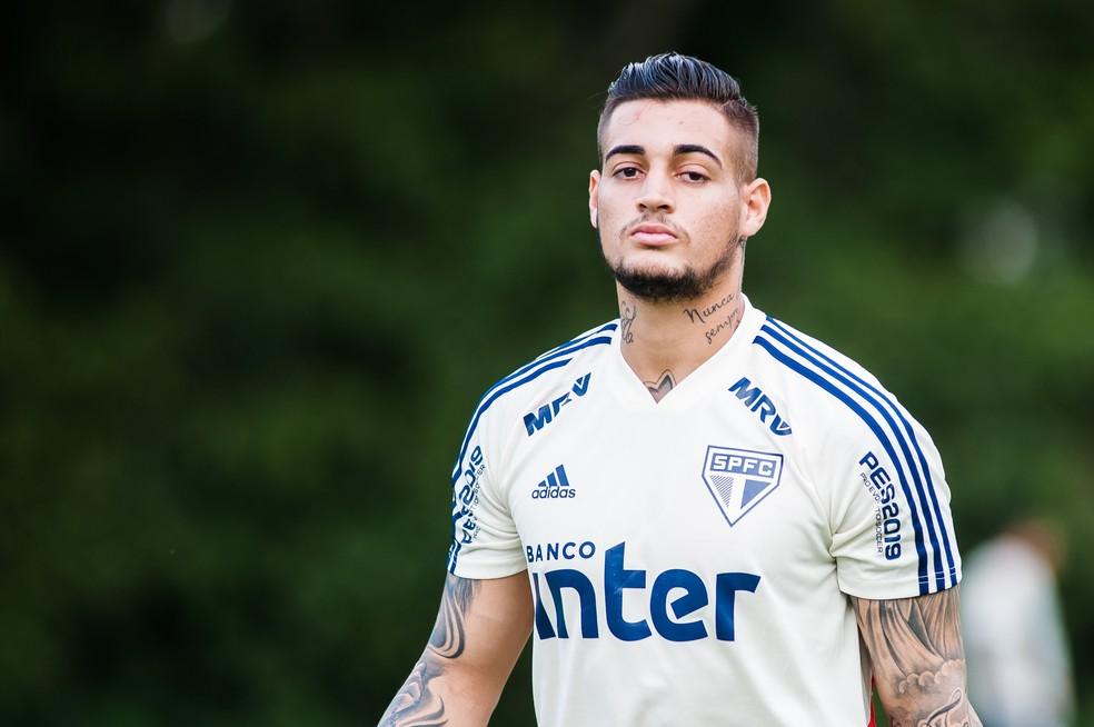 Jean, do São Paulo, fez apenas uma partida nesta temporada — Foto: Maurício Rummens/Estadão Conteúdo
