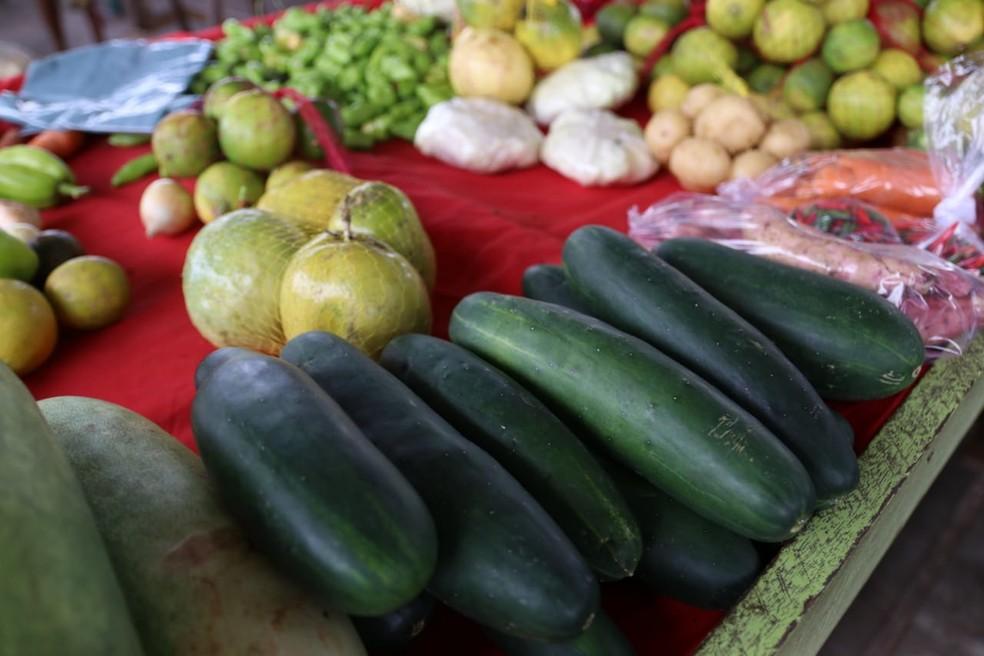 O decreto permite apenas a comercialização das bancas de frutas, verduras e cereais. — Foto: Prefeitura de Petrolina