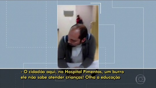 Médico é afastado após brigar e fazer gestos obscenos a mãe de paciente em hospital de Guarulhos