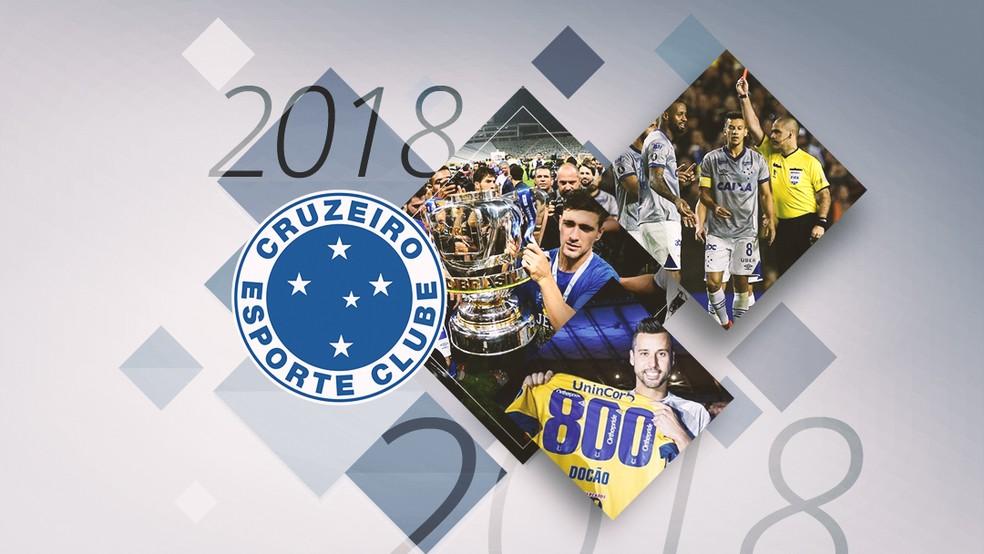 d1c8188d09a88 Retrospectiva 2018  Cruzeiro fatura dois títulos