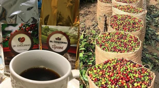 Cafés da Café Sr. Chiquinho, negócio com mais de dez anos do interior de Minas Gerais (Foto: Reprodução)