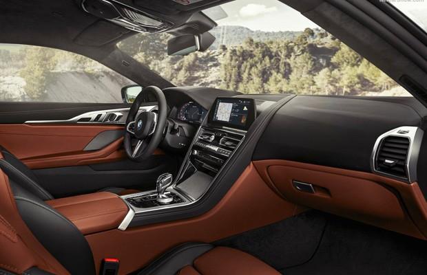 Interior do novo BMW Série 8 Coupé (Foto: Divulgação)