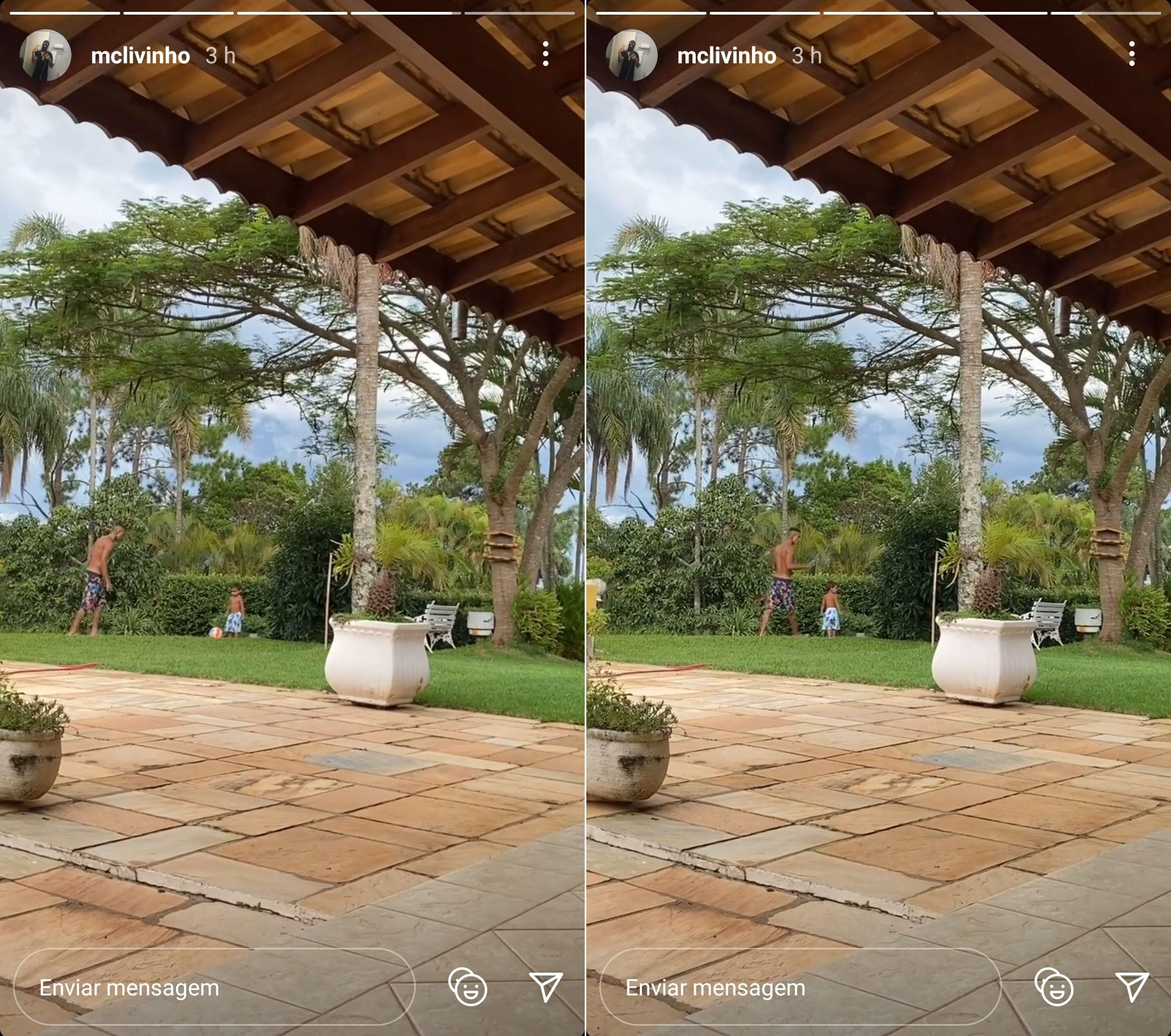 Esposa de Livinho posta vídeo e diz que MC 'passou por um livramento'