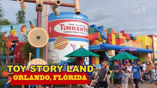 Conheça o Toy Story Land, parque de Toy Story no Walt Disney World, em Orlando