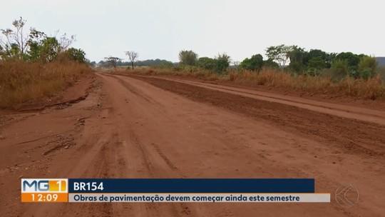 Após quatro anos de complicações, obras na BR-154 entre Ituiutaba e Campina Verde voltam a ser retomadas