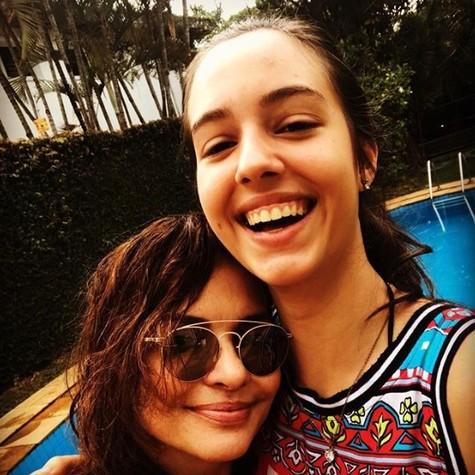 Luiza Tomé e a filha, Adriana (Foto: Reprodução / Instagram)