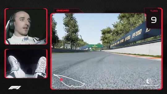 Vá de carona com Kubica em uma volta pelo palco do GP do Canadá