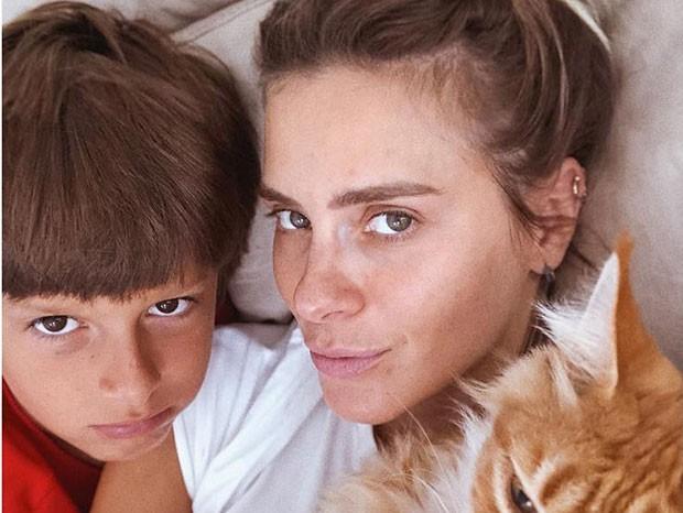 José, o caçula de Carolina Dieckmann (Foto: Reprodução/Instagram)