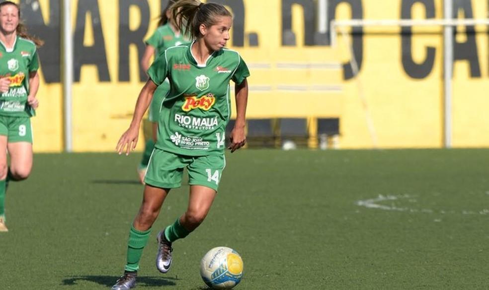 Millene Fernandes é de Rondônia e craque da seleção brasileira de futebol feminino.  — Foto: Arquivo pessoal