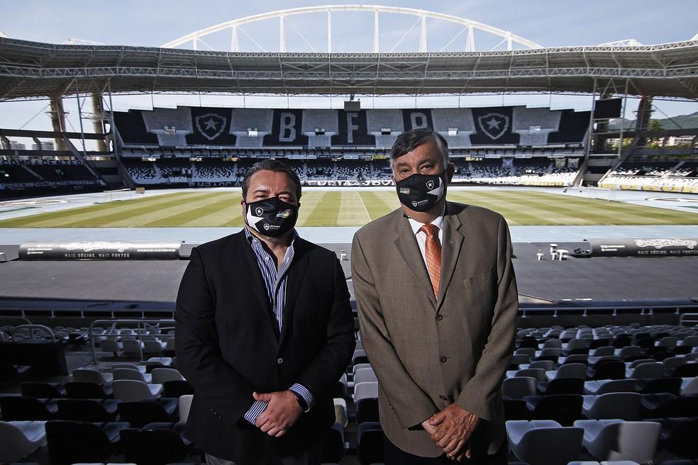 Jorge Braga é o CEO do Botafogo desde março deste ano — Foto: Vitor Silva/Botafogo