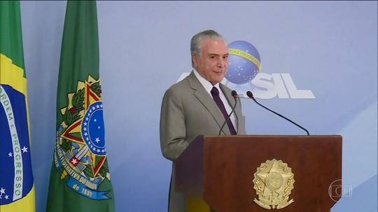 Ex-presidente Michel Temer responde a mais nove inquéritos