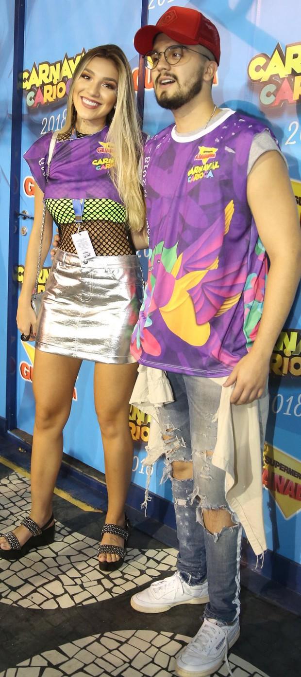 Luan Santana e Bruna Santana (Foto: AGnews)