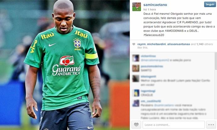 Zagueiro do Fla é convocado para seleção Brasileira sub-20