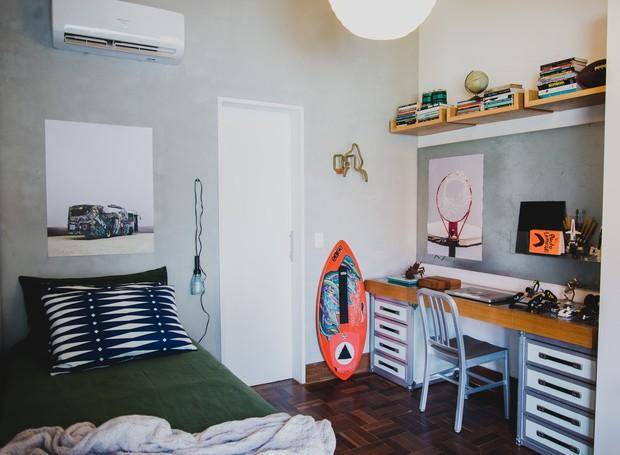 Um dos quartos em exposição no espaço Casa Obá  (Foto:  Divulgação )