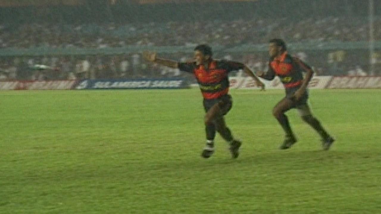 Em 1992, Sport vence o Flamengo por 2 a 1 pelo Campeonato Brasileiro