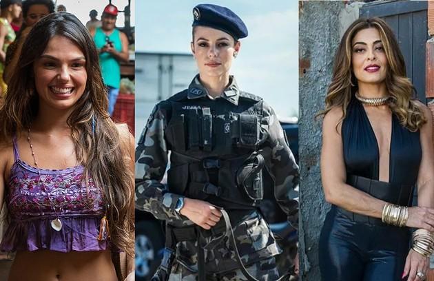 'A força do querer' conta a história de três mulheres bem diferentes: Ritinha (Isis Valverde), Jeiza (Paolla Oliveira) e Bibi (Juliana Paes) (Foto: Reprodução)