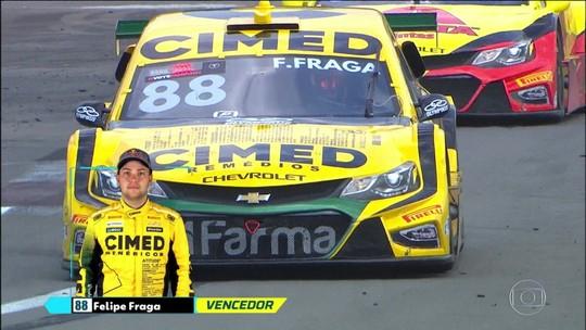 Ricardo Maurício faz pódio duplo e é novo líder da Stock Car; Fraga e Rubinho vencem no Velopark