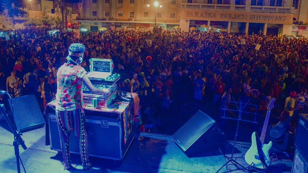 Atrações musicais animam o bloco do Cafuçu, em João Pessoa (Foto: Rafael Passos/Divulgação/Arquivo)