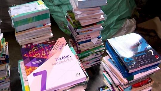 Livros didáticos novos estão virando lixo e até papel higiênico em escolas do RS