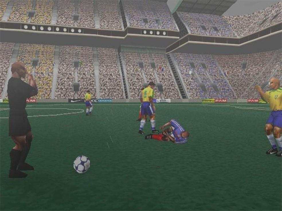 Ronaldo V-Football (Foto: Reprodução/Moby Games)