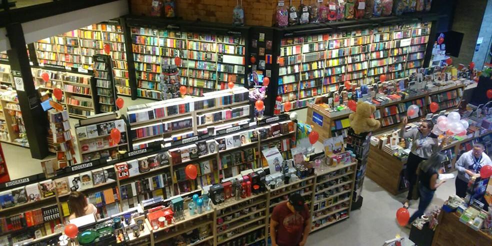 Livraria em Campinas — Foto: Cris Vieira.