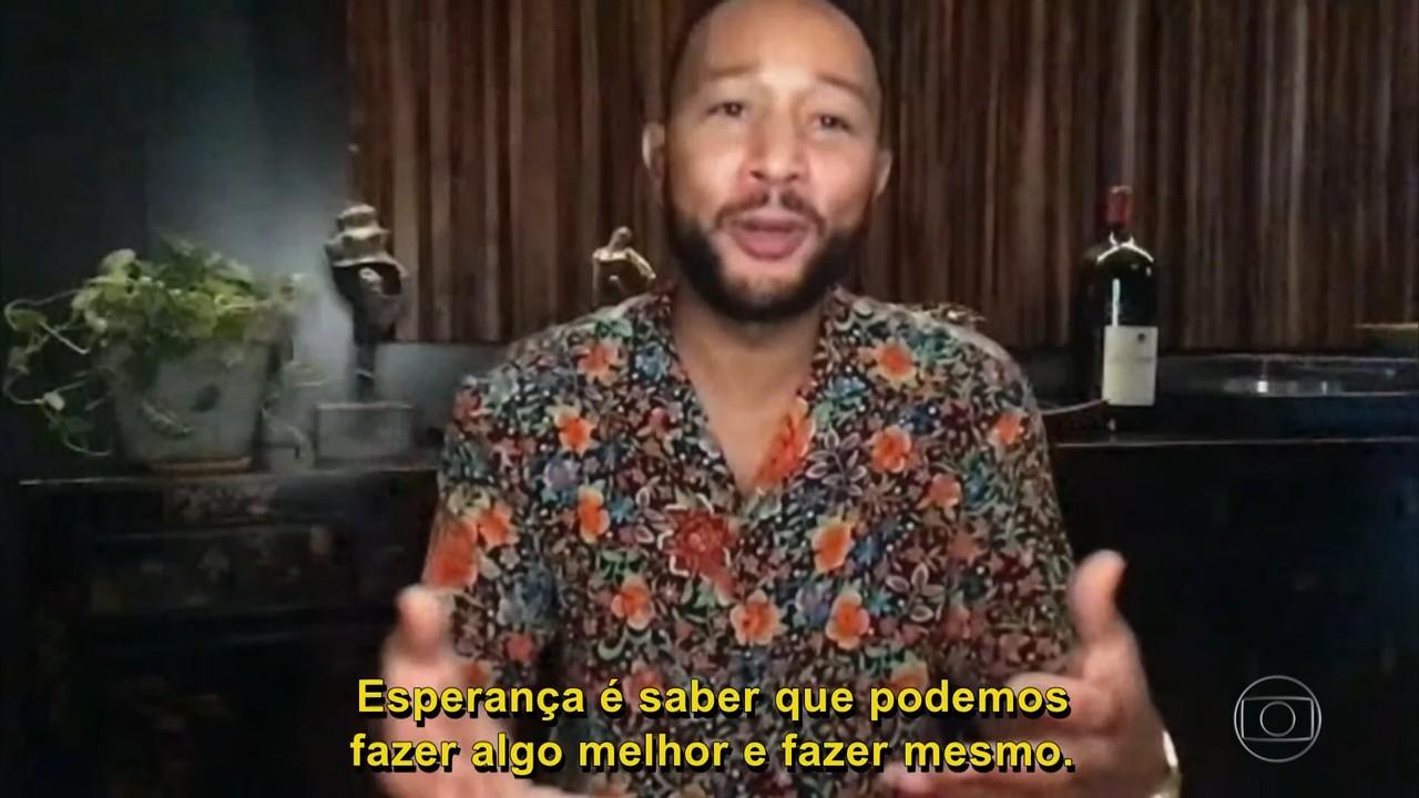 John Legend fala sobre os movimentos antirracistas nos Estaos Unidos