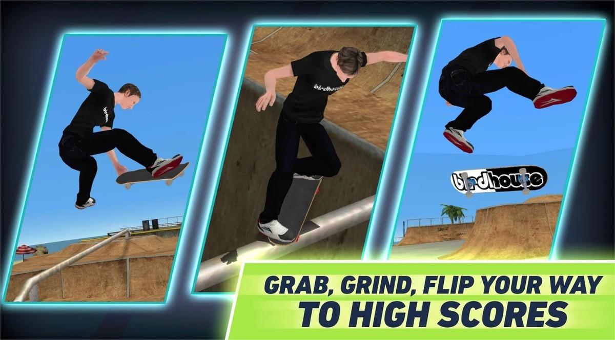 Tem Na Web - Novo jogo de skate de Tony Hawk chega aos celulares em dezembro