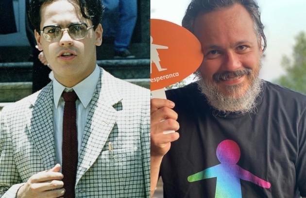 Danton Mello interpretou Roberto Drummond, autor do livro que originou a história. O ator está no elenco de 'Um lugar ao Sol', próxima novela das 21h (Foto: Globo / Reprodução )