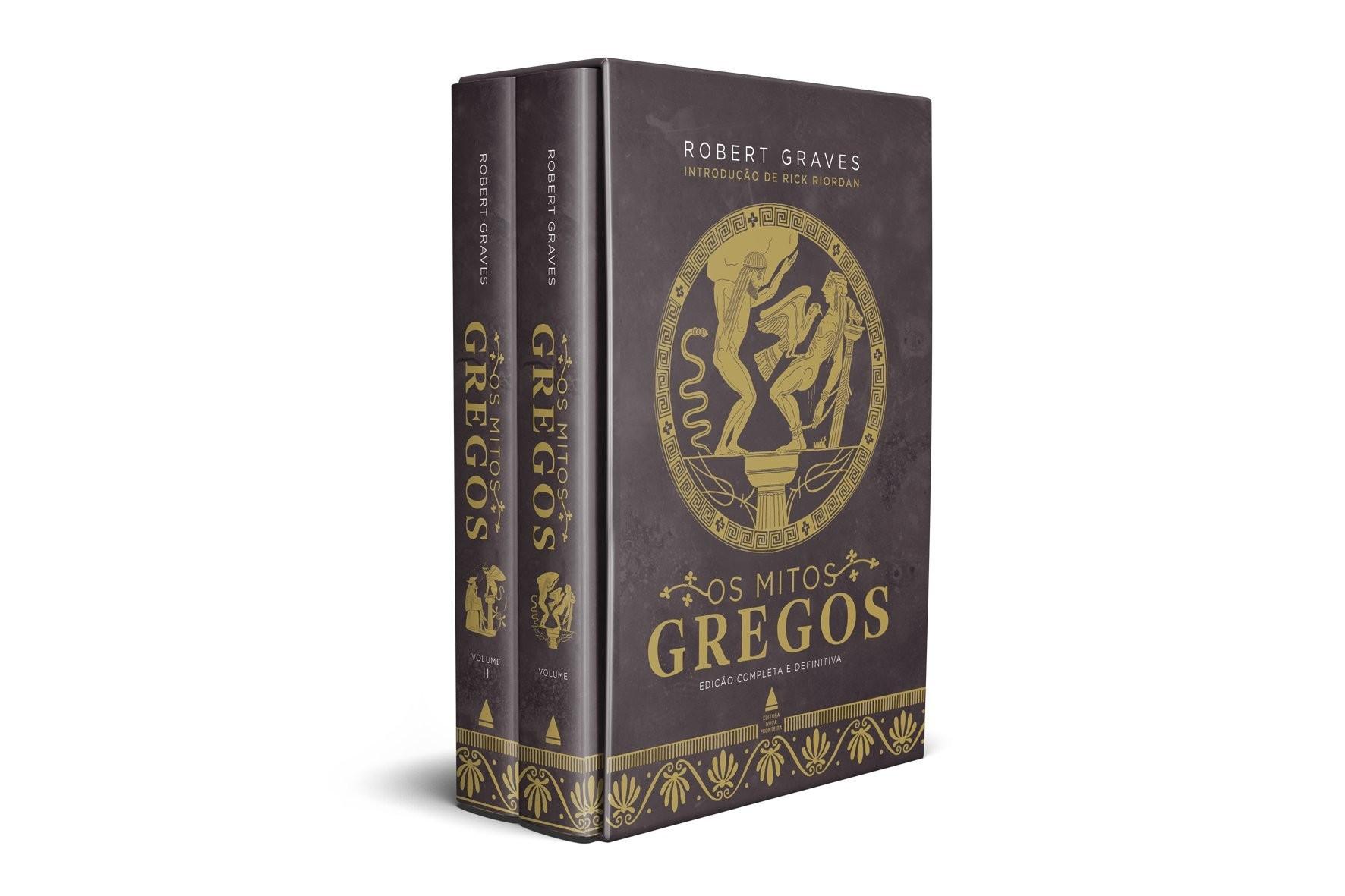 Os Mitos Gregos: obras de Robert Graves abordam histórias da mitologia grega (Foto: Divulgação)
