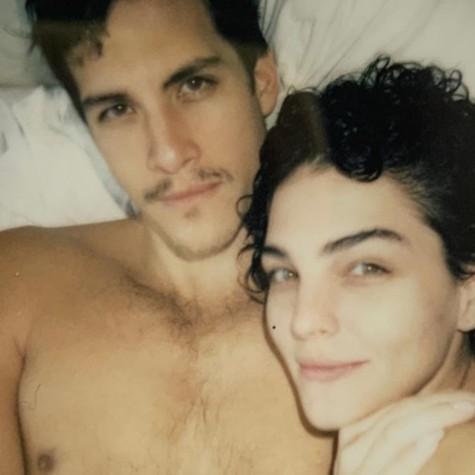 Julia Konrad e o namorado, Pedro Marques (Foto: Reprodução)