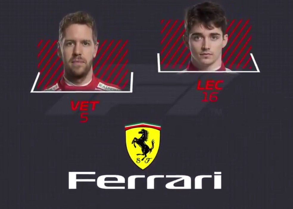 Ferrari — Foto: Reprodução